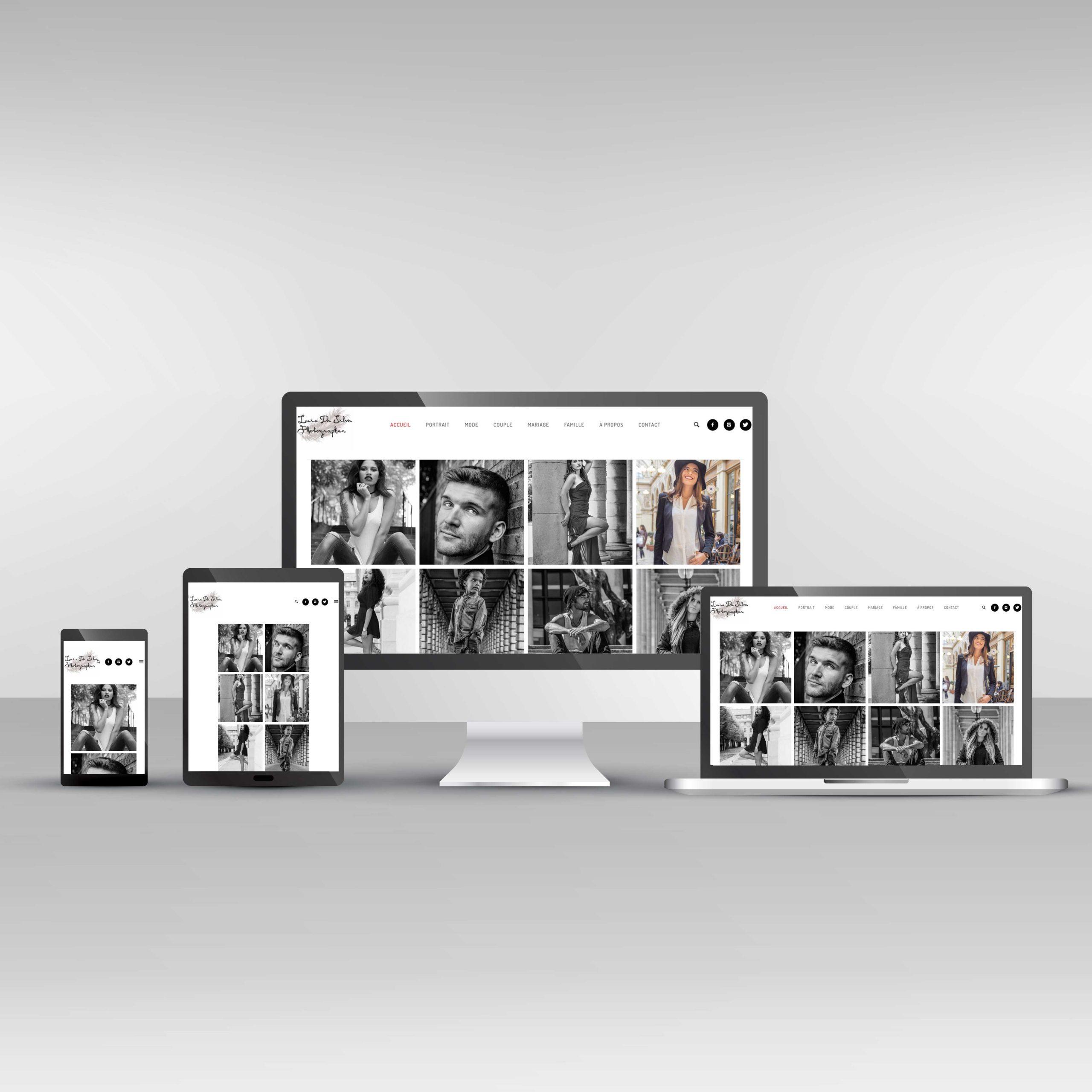 Site Internet Luis da Silva Photographer
